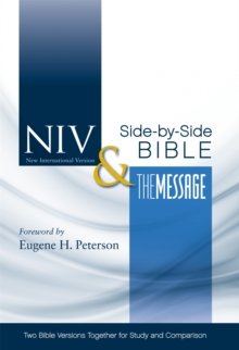 NIV & the Message Side-by-side Bible, Hardback Book