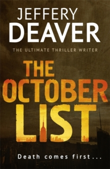 The October List, Hardback Book