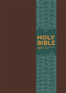 NIV Pocket Brown Imitation Leather Bible, Hardback Book