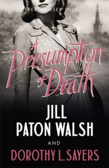 A Presumption of Death, Paperback Book