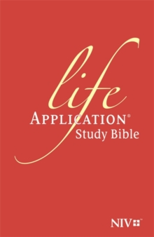 NIV Life Application Study Bible (Anglicised) : Leather, Paperback / softback Book