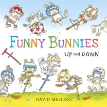 Funny Bunnies: Up and Down Board Book, Board book Book