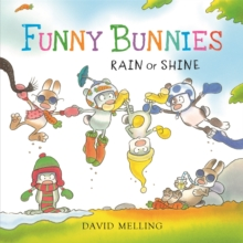 Funny Bunnies: Rain or Shine Board Book, Board book Book