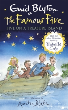 Famous Five: Five on a Treasure Island : Book 1 Full colour illustrated edition, Hardback Book