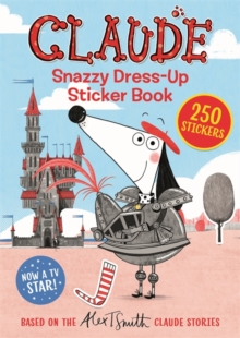 Claude TV Tie-ins: Snazzy Dress-Up Sticker Book, Paperback / softback Book