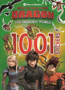 How to Train Your Dragon The Hidden World: 1001 Stickers, Paperback / softback Book