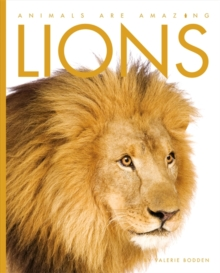 Animals Are Amazing: Lions, Paperback Book
