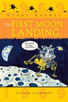 Great Events: The First Moon Landing, Paperback Book