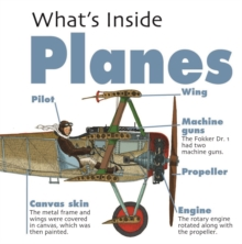What's Inside?: Planes, Hardback Book