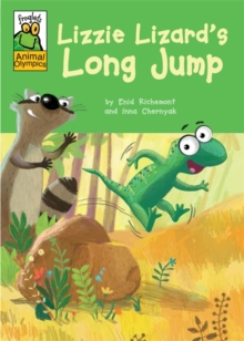 Froglets: Animal Olympics: Lizzie Lizard's Long Jump, Paperback Book
