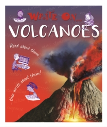 Write On: Volcanoes, Hardback Book