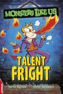 EDGE: Monsters Like Us: Talent Fright, Paperback Book