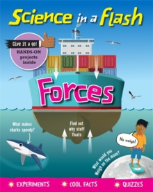Science in a Flash: Forces, Paperback / softback Book