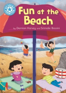 Reading Champion: Fun at the Beach : Independent Reading Blue 4, Hardback Book