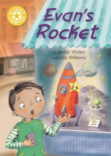 Reading Champion: Evan's Rocket : Independent Reading Yellow 3, Hardback Book