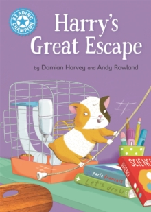 Reading Champion: Harry's Great Escape : Independent Reading Blue 4, Hardback Book