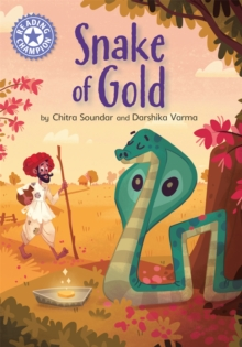 Reading Champion: The Snake of Gold : Independent Reading Purple 8, Hardback Book