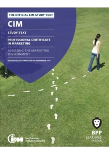 CIM - 2 Assessing the Marketing Environment : Study Text, Paperback Book