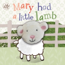 Little Learners Mary Had a Little Lamb Finger Puppet Book, Board book Book