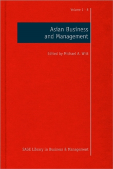 Asian Business and Management, Hardback Book