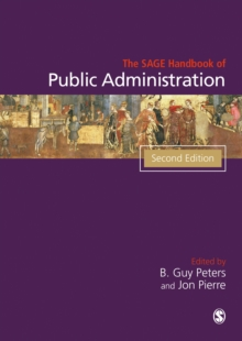 The Sage Handbook of Public Administration, Hardback Book