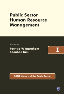 Public Sector Human Resource Management, Hardback Book