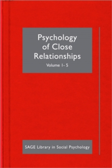 Psychology of Close Relationships, Hardback Book