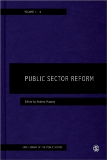 Public Sector Reform, Hardback Book