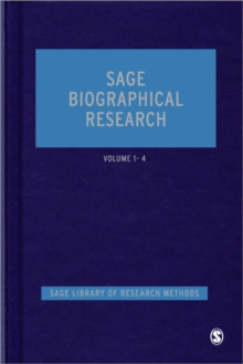SAGE Biographical Research, Hardback Book