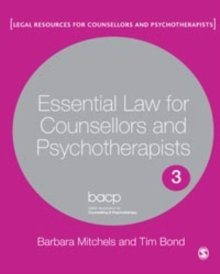 Essential Law for Counsellors and Psychotherapists, PDF eBook