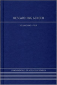 Researching Gender, Hardback Book