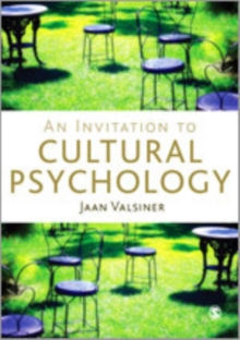 An Invitation to Cultural Psychology, Hardback Book