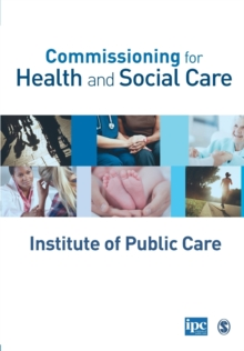 Commissioning for Health and Social Care, Paperback / softback Book