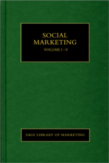 Social Marketing, Hardback Book
