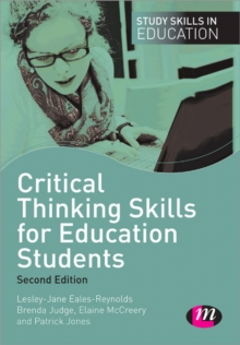 Critical Thinking Skills for Education Students, Paperback Book