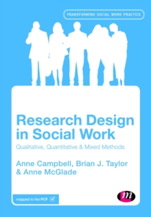 Research Design in Social Work : Qualitative and Quantitative Methods, Hardback Book