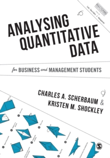 Analysing Quantitative Data for Business and Management Students, Paperback / softback Book
