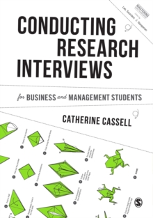 Conducting Research Interviews for Business and Management Students, Hardback Book