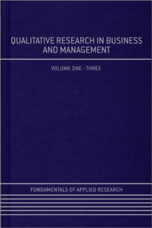Qualitative Research in Business and Management, Hardback Book