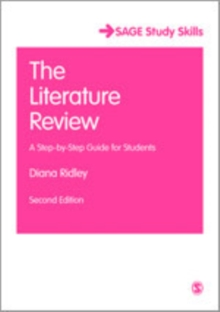 The Literature Review : A Step-by-Step Guide for Students, Mixed media product Book
