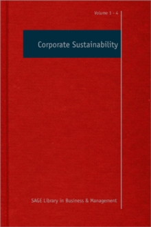 Corporate Sustainability, Hardback Book