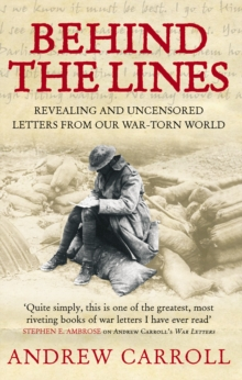 Behind The Lines : Revealing and uncensored letters from our war-torn world, EPUB eBook