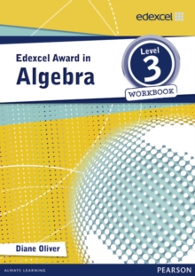 Edexcel Award in Algebra Level 3 Workbook, Paperback Book