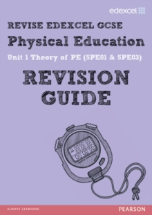 REVISE EDEXCEL: GCSE Physical Education Revision Guide, Paperback Book