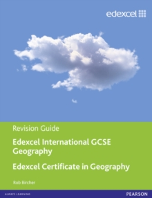 Edexcel International GCSE/Certificate Geography Revision Guide print and online edition, Mixed media product Book