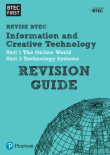 BTEC First in I&CT Revision Guide, Paperback / softback Book