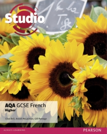Studio AQA GCSE French Higher Student Book, Paperback Book
