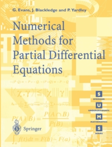 Numerical Solution Of Partial Differential Equations Pdf