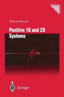 Positive 1D and 2D Systems, Paperback / softback Book