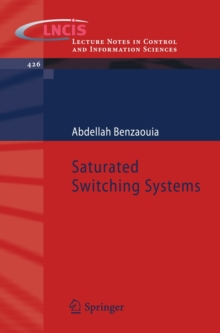 Saturated Switching Systems, Paperback / softback Book